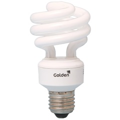 Lâmpada Fluorescente Espiral 20w/127v - Golden
