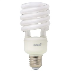 Lâmpada Fluorescente Espiral 25w 110v 6500k - Golden