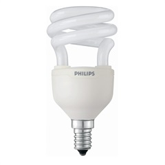 Lâmpada Fluorescente Mini Twister Am E14 12w 127v  - Philips