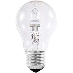 Lâmpada Halógena Bulbo 70w 110v Amarela - Osram