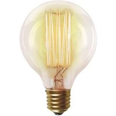 Lâmpada Incandescente com Filamento de Carbono G80 40w 220v 2200k Luz Amarela - Taschibra