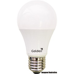 Lâmpada Led a60 10w Bivolt 3.0k - Golden