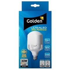 Lâmpada Led Alta Potência 30w Bivolt 6500k - Golden