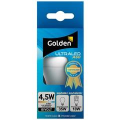 Lâmpada Led Bulbo a60 4,5w Bivolt 6500k - Golden