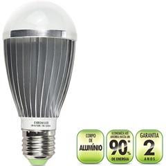 Lâmpada Led Bulbo Alumínio E27 7w - Exbom
