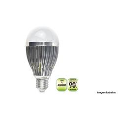 Lâmpada Led Bulbo Alumínio E27 9w - Exbom