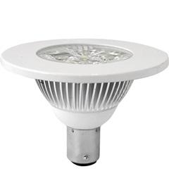 Lampada Power Led Ar70 4 Luzes 10w 12v Neutra           - Bronzearte
