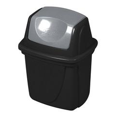 Lixeira  Basculante  para Pia Ecoblack 6.5l Ref.3484 - Plasútil