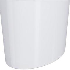 Lixeira Oval 5,0 Litros Branca 20931/0007     - Coza