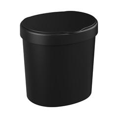 Lixeira  Preta 2,5 Litros - Coza