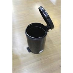 Lixeira Preta com Pedal 5 Litros D9133 - Ekka