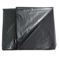 Lona Plástica Preta 4x5m  - Estopex