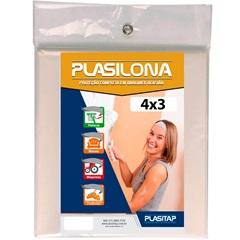 Lona Plástica Transparente 4x3m Plasilona - Plasitap