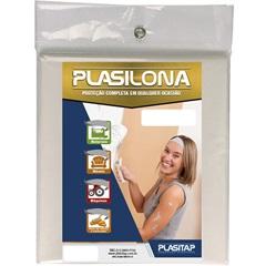 Lona Plástica Transparente 5x4m  - Plasitap