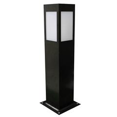 Luminária Balizadora em Alumínio Bolt 50cm Preta - Ideal