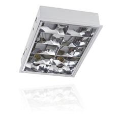 Luminária de Embutir para 4 Lâmpadas Retangular - Blumenau