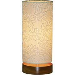 Luminária de Mesa Flor Branca - LS Ilumina