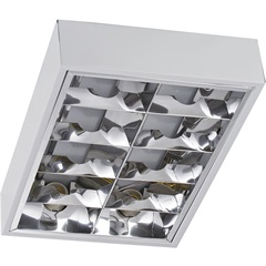 Luminária de Sobrepor para 4 Lâmpadas Retangular - Blumenau