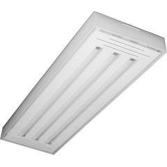 Luminária em Alumínio para 3 Lâmpadas Valência Led Tube 65x20cm - Tualux