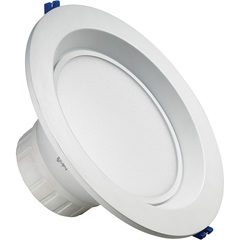 Luminária Led Downlight Redonda 20w Bivolt Intelligent 4000k - Brilia