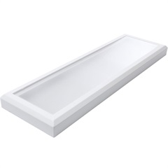 Luminária Led para 2 Lâmpada 34w Bivolt Line Branca 6000k Luz Branca - RCG Tecnologia