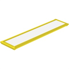 Luminaria Led Slim 10 Amarelo - Taschibra