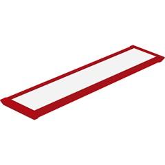 Luminária Led Slim 10 Autovolt em Alumínio Vermelha - Taschibra