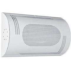 Luminária Mi.01 para 1 Lâmpada Branca com Acrílico Listrado - Tualux