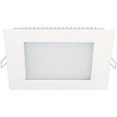 Luminária Painel Led de Embutir Quadrada 12w 3,000k Luz Neutra - Taschibra