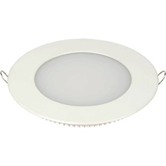 Luminária Painel Led de Embutir Redondo 6w 6,500k Luz Branca - Taschibra