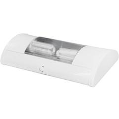 Luminaria Td 55 Brilhare 2xe-27 Branca   - Taschibra
