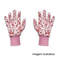 Luva Jardinagem Pink  - Dura Plus
