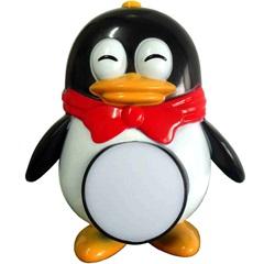 Luz Noturna Infantil Pingüim Led Bivolt 6139 - DNI