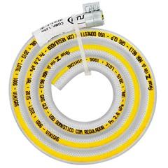 Mangueira Nbr para Regulador de Gás com Abraçadeira com 1,25 Metros 035-9  - Forusi