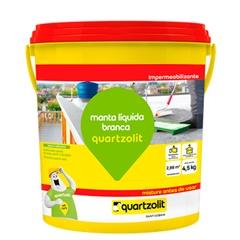 Manta Liquida Branca Galão com 4,5 Kilos - Quartzolit