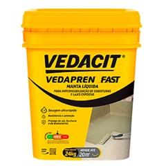 Manta Líquida Vedapren Fast Branco 24kg