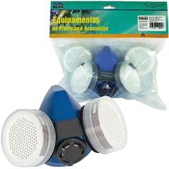 Máscara Semi-Facial Multi para Vapores Orgânicos E Gases Ácidos - Dura Plus