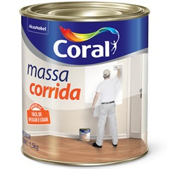 Massa Corrida Pva 900ml