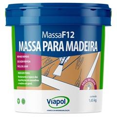 Massa para Madeira Branca F12 900ml Ref.: 169  - Fusecolor