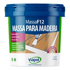 Massa para Madeira Imbuia F12 900ml Ref.: 154  - Fusecolor