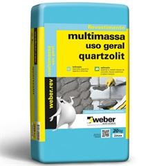 Massa Pronta - Multimassa Uso Geral 20kg  - Quartzolit