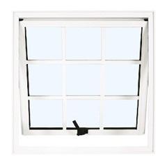 Maxim-Ar 60x60 Branco com Vidro Mini-Boreal Linha Quadriculada - Ebel