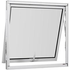 Maxim-Ar Simples de Alumínio sem Grade Vidro Mini Boreal Una Branco 80x60cm - Casanova