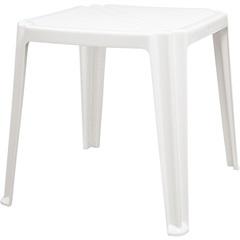 Mesa de Plástico Quadrada Riviera Branca  - Tramontina