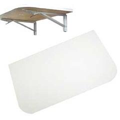 Mesa Flexível 100x50cm Branca - V. Chiatto
