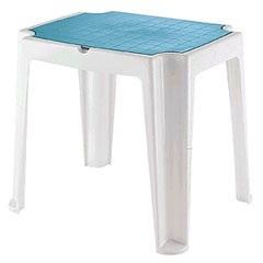 Mesa Infantil Versa Branca E Azul Linha Game Ref. 92340/017 - Tramontina
