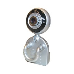 Mini Webcam 350k Pixel com Microfone Ideal Notebook  - GE