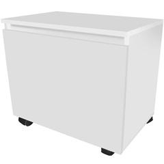 Módulo em Mdf Sicflex Gavetão Branco - Sicmol