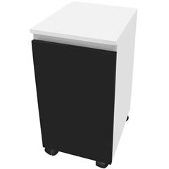 Módulo em Mdf Sicflex Roupeiro Branco E Preto - Sicmol