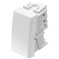 Módulo Interruptor Simples Habitat 10a 250v Branco - Fame